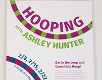 Hooping With Ashley Hunter Poster
