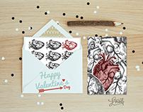 Happy Valentines Day - Postcards