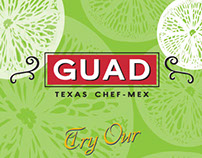 GUAD Texas Chef-Mex menu