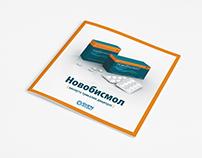 Booklets «Novobismol» for a pharmaceutical company