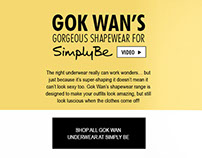 Gok Wan Minisite 2013 Campaign
