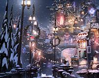 Neo-Christmas Town