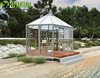 Beach Club Resort design by Yantram architectural visua