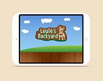 Louie's Backyard App, Activity Book & Viewmaster