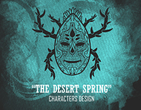 """The Desert Spring"" Characters Design"