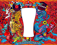 SeanWei x McDonald's Coca-Cola Glasses 2015
