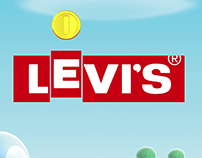 Levi's X Super Mario [CG & Motion Graphics]