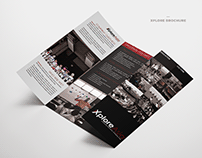 Brochure Design for xplore asia