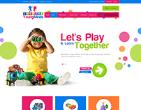 inspire youngminds E-Commerce Landing Page Design