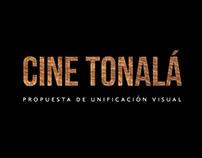 Cine Tonalá: Propuesta de unificación visual