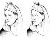 Anastasia portrait