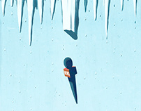 Editorial Illustrations for inconvenient issues