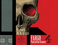 "Postal inspirada en la serie ""Fargo"" para Channel 4."