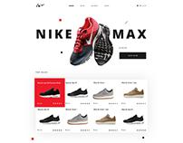 UI Design for Web Store