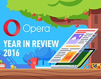 Year in review Opera 2016. Animation