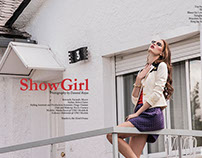 SHOWGIRL EDITORIAL BY DANNIEL ROJAS