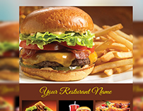 Food flyer and Menu Template