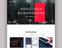 Portfolio. Landing page