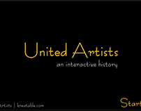 United Artists Interactive History