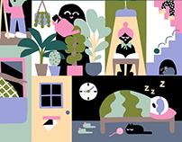 Editorial Illustration for M2