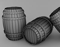 Barrel (High-Poly)