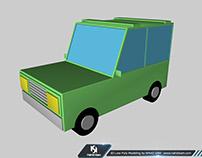 3D Low Poly Modeling by NAHID SAM   www.nahidsam.com
