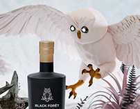 Black Forêt Gin - Illustration & Photography