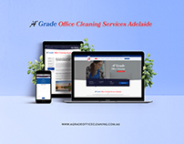 Web Design - A Grade Office Cleaning