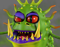 Monsterlings: Grubling - Storn the Stinky