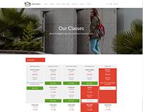 Classes Style 4 - Education WordPress Theme