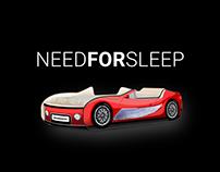 NeedForSleep дизайн сайт детской мебели