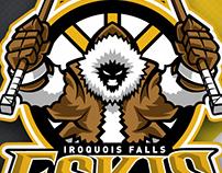 Iroquois Falls Eskis Logo Design