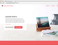 Social Print Studio Website