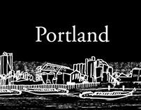 Portland — drawing & animation
