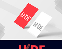 work out on new logo (Hide logo)
