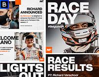 MP Motorsport Branding