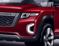 Land Rover Defender (video)