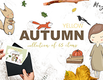 Autumn Graphics set