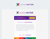 Human Factor - E-mail Marketing and Flyer