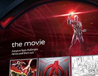 Audi - Marvel Avengers Microsite Effects
