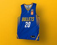 Brisbane Bullets Home & Away Uniforms