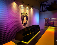 Lamborghini Showroom Launch - Dubai