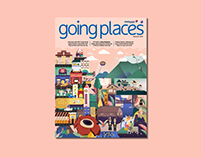 Kota Kinabalu Cover- Malaysia Airlines Magazine