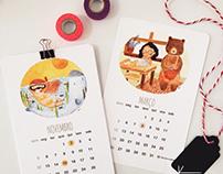 Calendar project | 2017