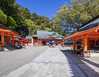 Japanese shrine photo album