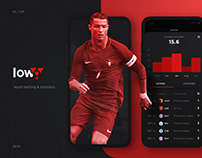 LOW6 - Sport Bets & Statistics Mobile App