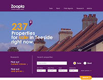 Zoopla - DIGITAL WEBSITE + MOBILE APP + OUTDOOR ADS
