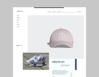 Adidas - ReDesign - Web Design Project