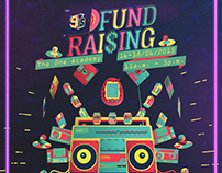 9Ts fund raising poster