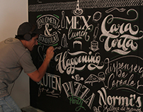 MOTHER BS AS Lettering Mural